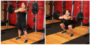 Jailhouse Strong | No frills training for strength and unarmed combat | Adam benShea | Josh Bryant | Blog | High-Intensity Interval Training: The Ultimate Guide | Front Barbell Squat